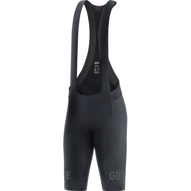 GORE WEAR C7+ Trägerhose kurz Damen schwarz