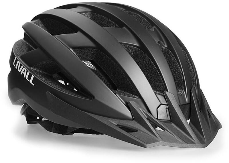 LIVALL MT1 Multifunksjonell hjelm inkl. mva.BR80 svart 58-62cm 2021 MTB-hjelmer