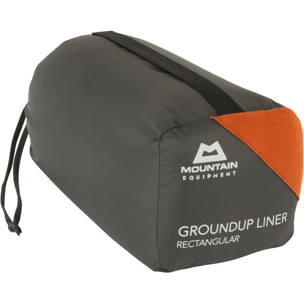 Mountain Equipment Groundup Liner Rechteckig paprika