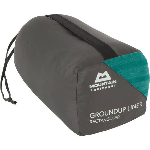 Mountain Equipment Groundup Liner Rechteckig spruce stripe