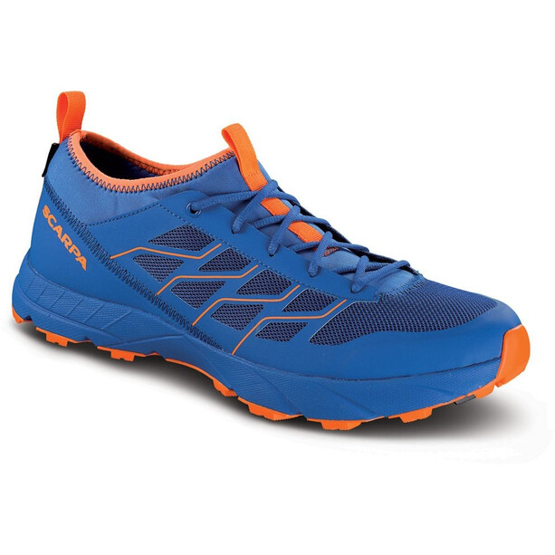 Scarpa Atom SL GTX Schuhe turkish sea/orange fluo