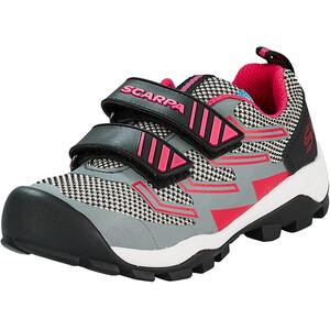 Scarpa Hook & Loop Schuhe Kinder grau/pink grau/pink