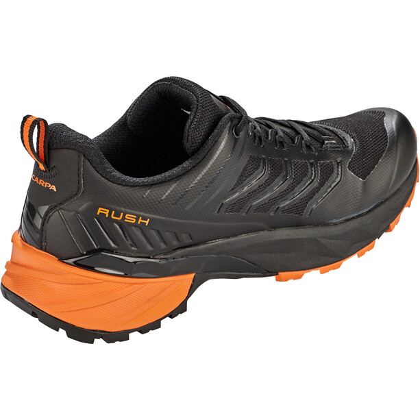 Scarpa Rush Schuhe Herren black/orange