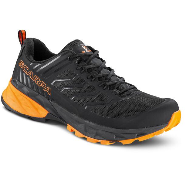 Scarpa Rush Schuhe Herren black/orange