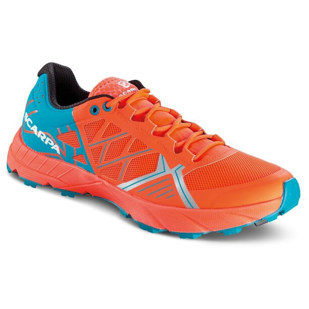 Scarpa Spin Schuhe Damen bright red/sea