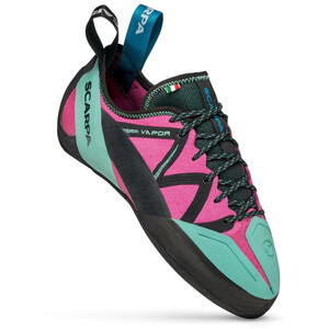 Scarpa Vapor Chaussons d'escalade Femme, rose/turquoise rose/turquoise