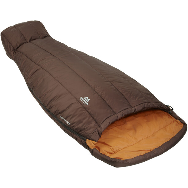 Mountain Equipment Sleepwalker III Sleeping Bag Dam dk choc/blaze
