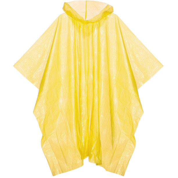 CAMPZ Notfall Poncho yellow