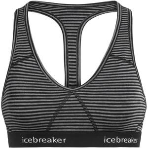 Icebreaker Sprite Racerback Bra Women grå grå