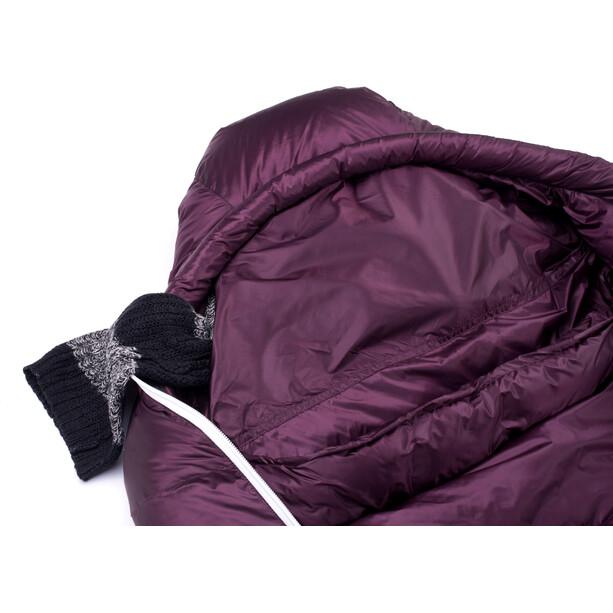 Grüezi-Bag Biopod DownWool Subzero 175 Schlafsack berry