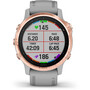Garmin Fenix 6S Sapphire Multisport GPS Smartwatch grey/rose gold
