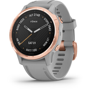 Garmin Fenix 6S Sapphire Multisport GPS Älykello, grey/rose gold grey/rose gold