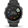 Garmin Fenix 6S Sapphire Multisport GPS Smartwatch grau