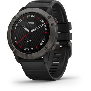 Garmin Fenix 6X Sapphire DLC Multisport GPS Smartwatch black/slate grey black/slate grey