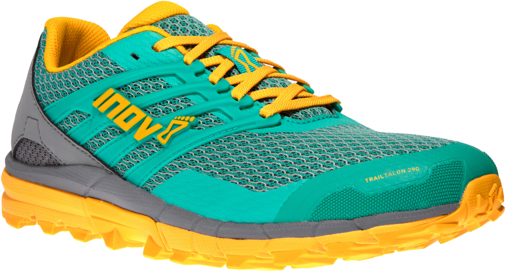inov 8 Trailtalon 290 Shoes Dam tealgreyyellow
