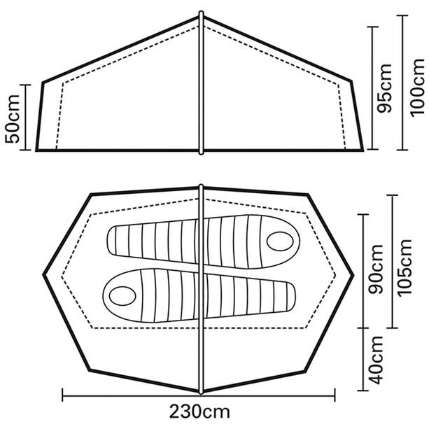 Terra Nova Laser Competition 2P Tent green
