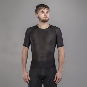 GripGrab Ultralight Mesh Kurzarm Baselayer black black