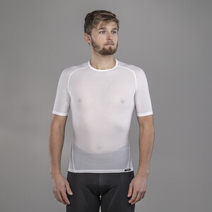 GripGrab Ultralight Mesh Kurzarm Baselayer white white