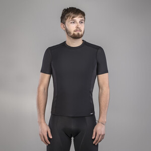 GripGrab Windbreaking Performance Kurzarm Baselayer black black