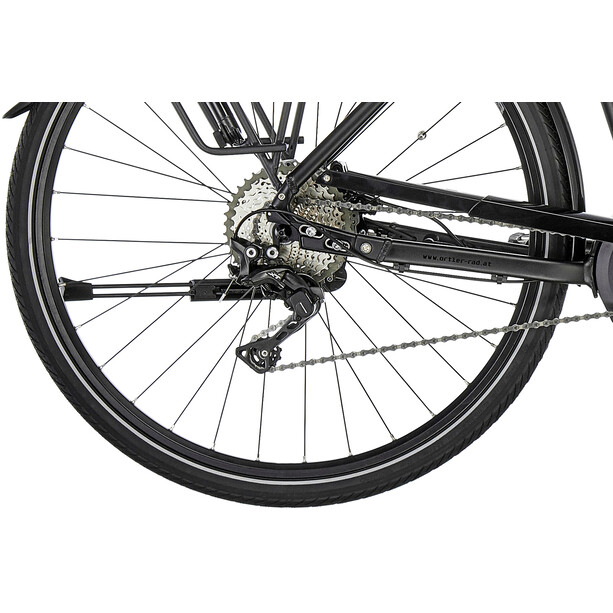 Ortler Bozen Premium Powertube Trapez black matt