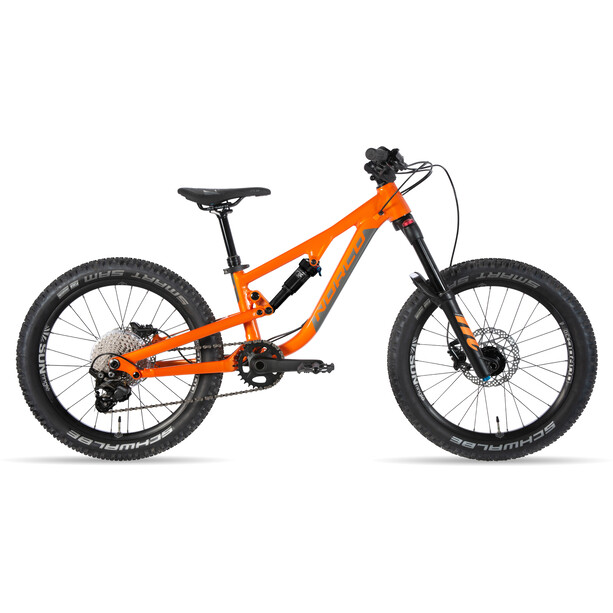 """Norco Bicycles Fluid FS 1 20"""" Kinder valencia orange/charcoal"""