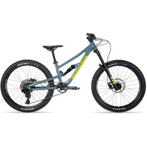 "Norco Bicycles Fluid FS 1 24"" Kinder slate blue/slime green slate blue/slime green"