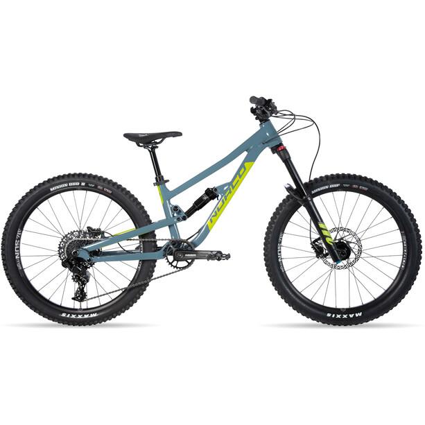 "Norco Bicycles Fluid FS 1 24"" Kinder slate blue/slime green"