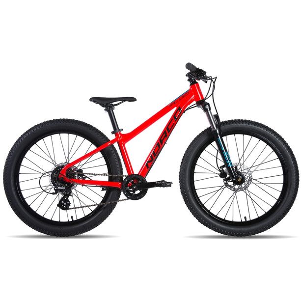 """Norco Bicycles Fluid 4.3 HT Plus 24"""" red"""