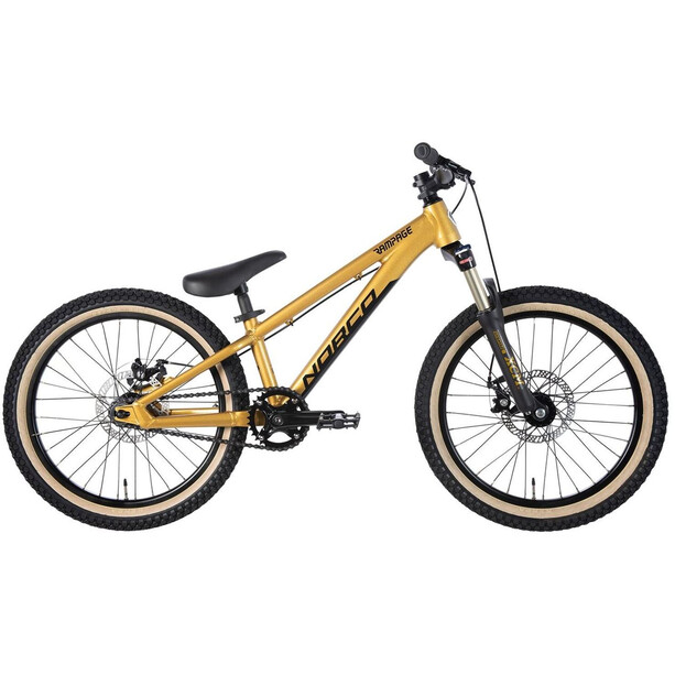 "Norco Bicycles Rampage 2 20"" gold/black"