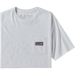 Patagonia Boardshort Label Pocket Responsibili Tee Herr white white