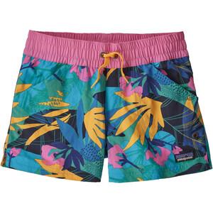 Patagonia Costa Rica Baggies Shorts Flickor pink/blå pink/blå