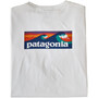 Patagonia Capilene Cool Daily LS Graphic Shirt Dam boardshort logo/white