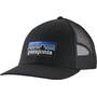 Patagonia P-6 Logo LoPro Trucker Hat black