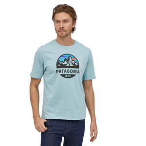 Patagonia Fitz Roy Scope Organic T-Shirt Herr big sky blue big sky blue