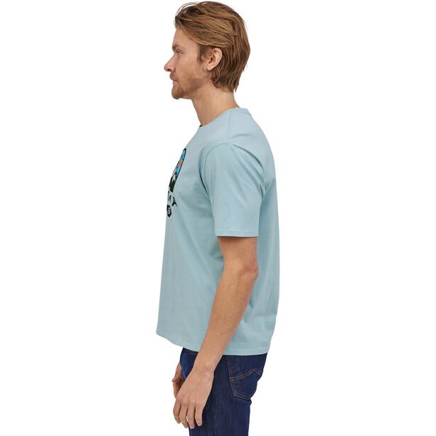 Patagonia Fitz Roy Scope Organic T-Shirt Herr big sky blue
