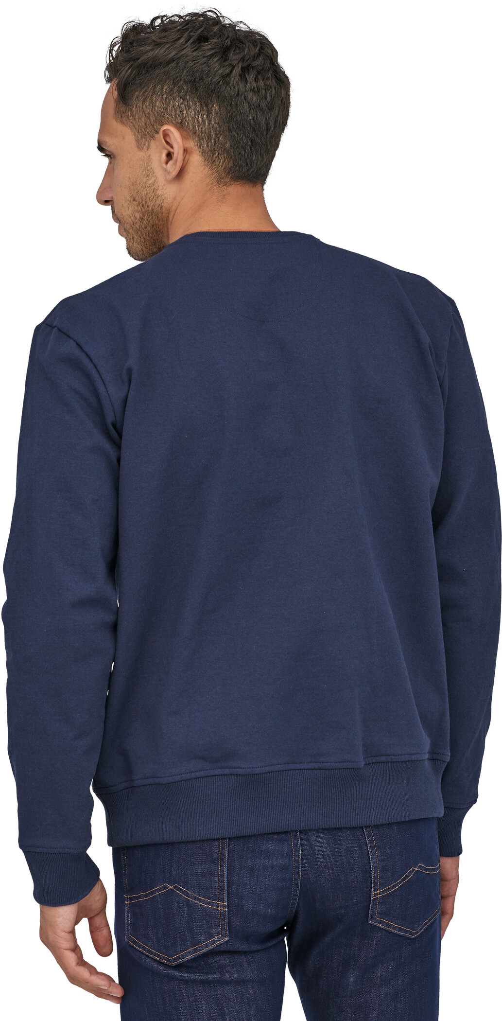 Patagonia Fitz Roy Horizons Uprisal Crew Sweatshirt Herr classic navy