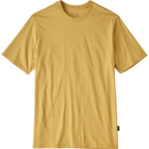 Patagonia Organic Cotton Lightweight Tee Herr surfboard yellow surfboard yellow