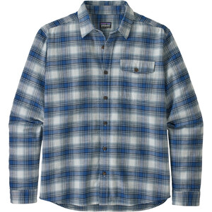 Patagonia LW Fjord Flannel Shirt Herr grange/superior blue grange/superior blue