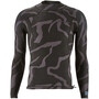 Patagonia R1 Lite Yulex LS Top Herr tiger tracks camo/ink black