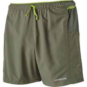 "Patagonia Strider Pro Shorts 5"" Herr industrial green industrial green"