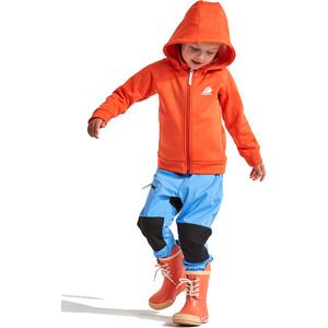 DIDRIKSONS Corin Jacke Kinder tile orange tile orange