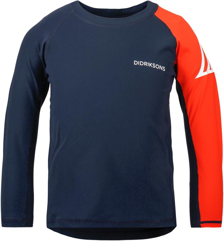 DIDRIKSONS Surf UV Langarmshirt Kinder navy Langarmshirts 100 502949-039-100