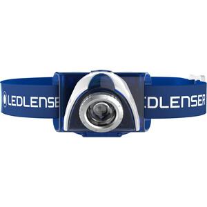 Led Lenser LED SEO 7R Stirnlampe Geschenkbox blue blue