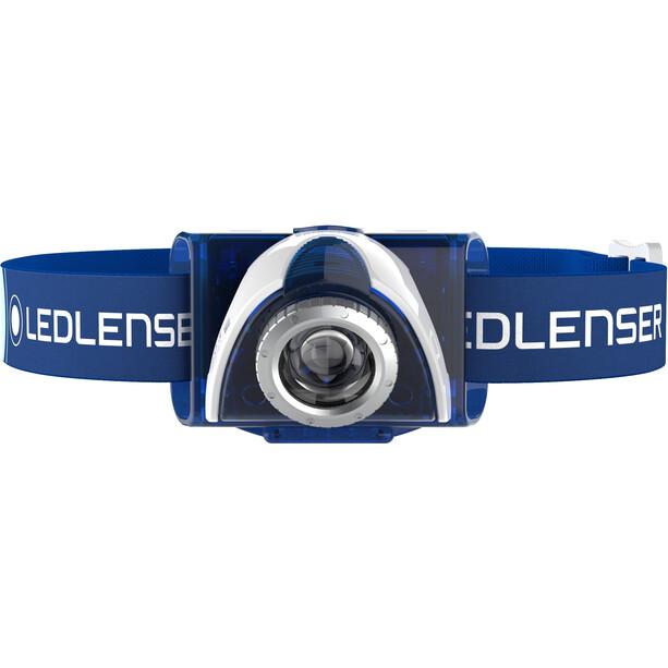 Led Lenser LED SEO 7R Stirnlampe Geschenkbox blue