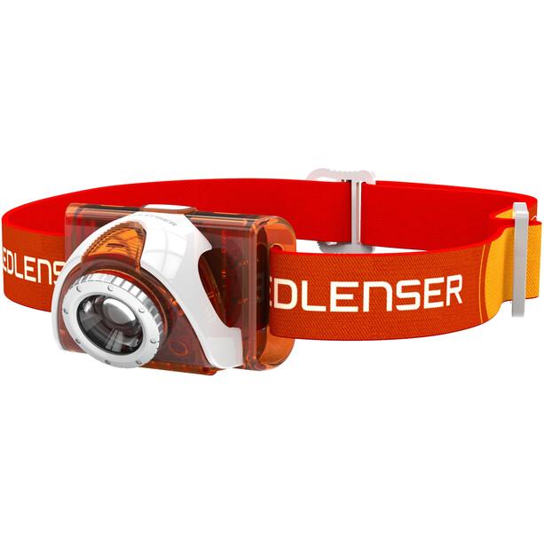 Led Lenser LED SEO 4 Stirnlampe orange