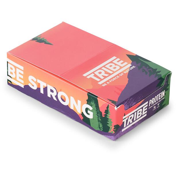 TRIBE Vegan Protein Bar Box 16x50g Erdnussbutter Crunch