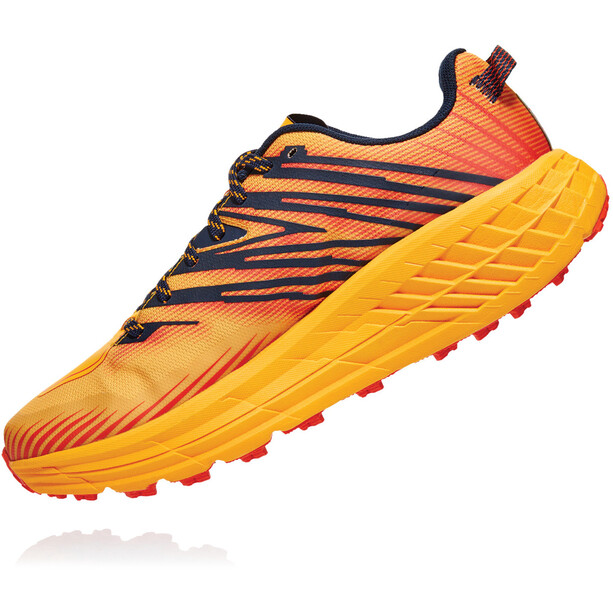 Hoka One One Speedgoat 4 Shoes Men, gold fusion/black iris