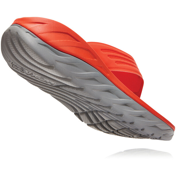 Hoka One One Ora Recovery Flip Sandalen Herren mandarin red/wild dove