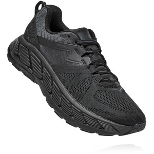 Hoka One One Gaviota 2 Schuhe Damen black/dark shadow black/dark shadow