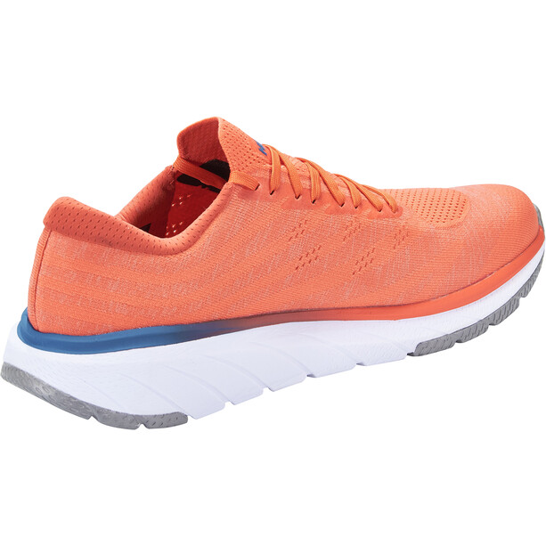 Hoka One One Cavu 3 Schuhe Herren mandarin red/white